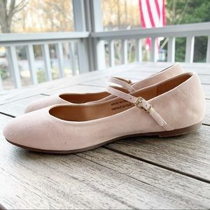 Free People Leather Mary Jane Flats size 8.5